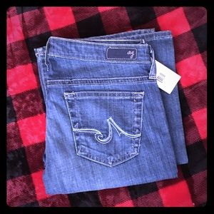 "AG Jeans size 27 ""Angel boot"""